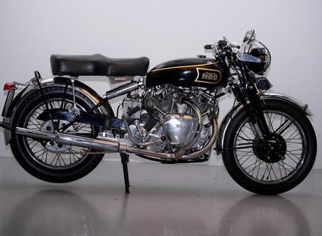 Vincent series B 1000 Rapide 1948.