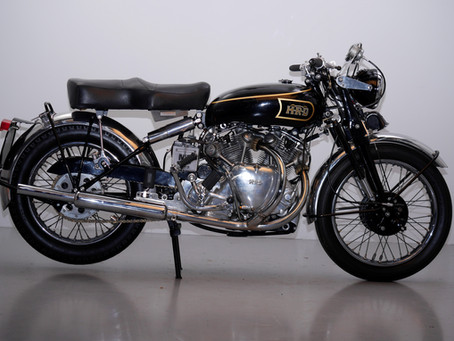 Vincent series B 1000 Rapide 1948.
