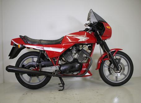 Moto Morini 350K2 1983.