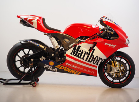 Ducati GP03 ex Troy Bayliss