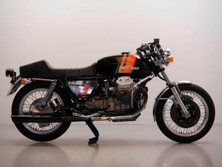 Moto Guzzi 750S 1974.