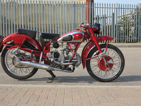 Moto Guzzi Airone Sport.