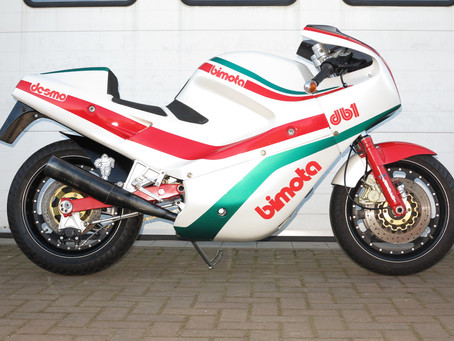 Bimota DB1 1986. Very original example.