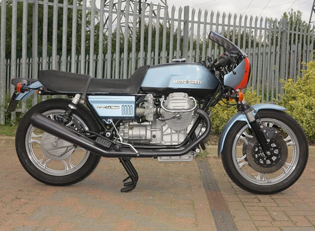 Moto Guzzi Le mans 1 Fully restored.