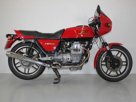 Moto Guzzi V50 Monza 1982