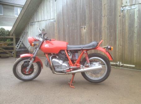 Ducati 860GT Conversion
