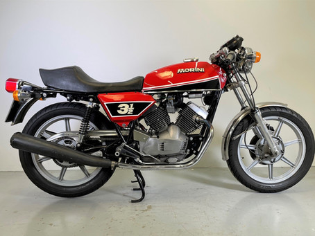 Moto Morini 350 Sport. 1977