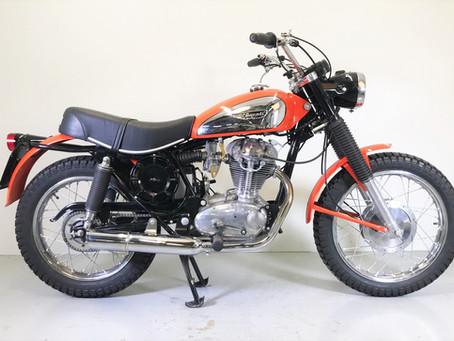 Ducati 350 SCR restored.