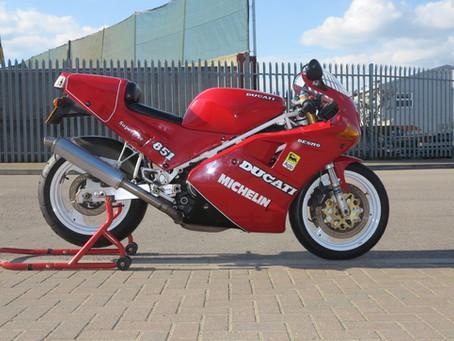 Ducati 888 SP2 1990.