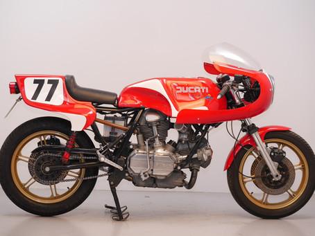 Ducati NCR 900 replica 1980.
