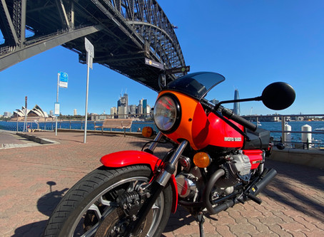 Guzzi Le Mans down under.