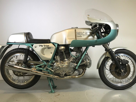 Ducati 750SS 1974 fully restored
