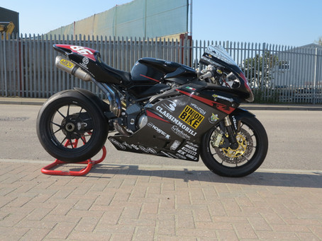 MV F4 1000 Superstock bike