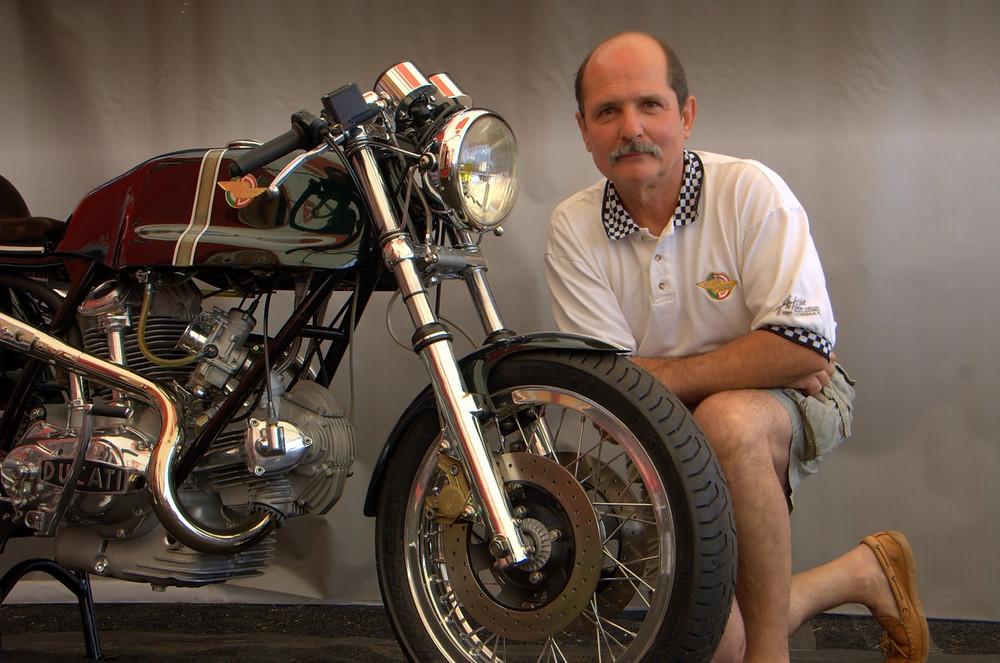 Ducati 1974 750 Sport Desmo Special MC Ducati Concorso Finals Laguna Seca 9-2007.JPG