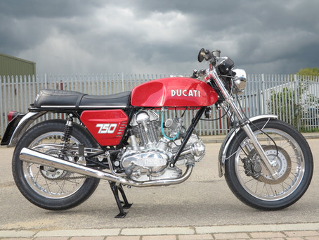 Ducati 750GT Restoration just finished.