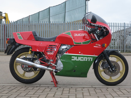 Ducati 900R 1984: Sold.