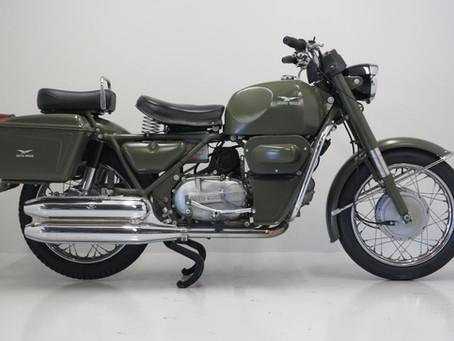 Moto Guzzi  NF500 1975.