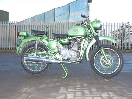 Bianchi  MT/61 Military 330 CC  1961.