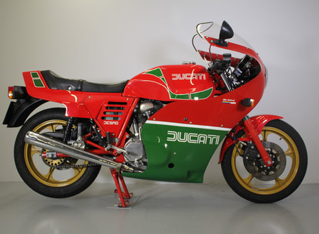 Ducati MHR 900.