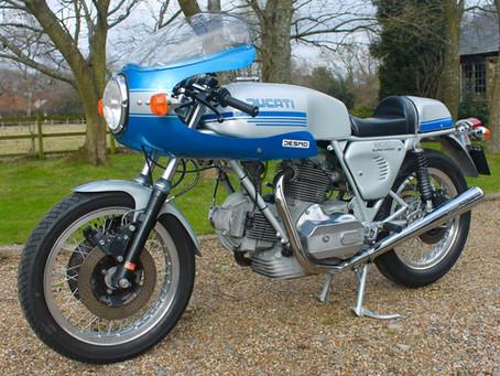 Peter Bullards stunning 900SS.