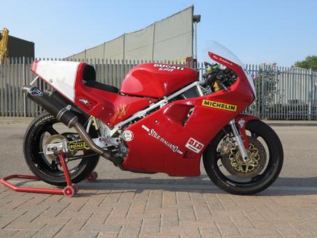 Davide Tardozzi's  Ducati 888 WSBK.