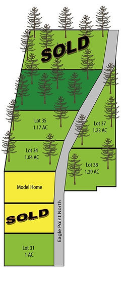Available lots plat in Deats Farm
