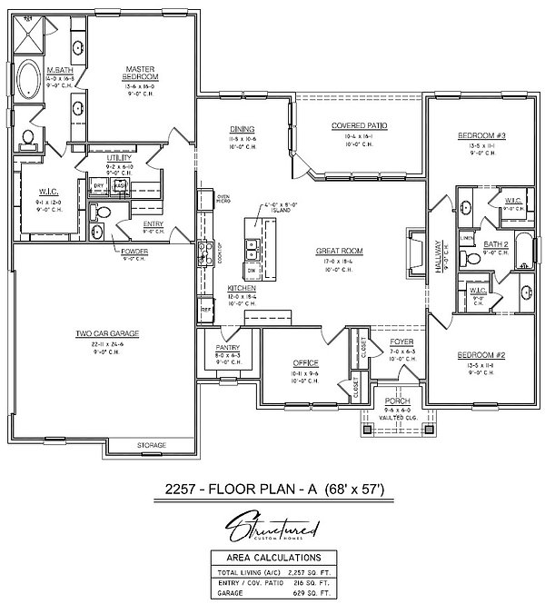 Monroe Floor Plan