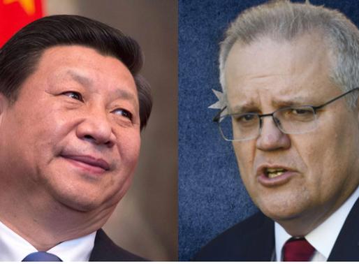 Australia takes the lead on China threat