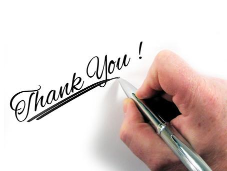 Übung der Woche | Dankbarkeitsbrief