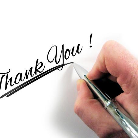 Übung der Woche   Dankbarkeitsbrief