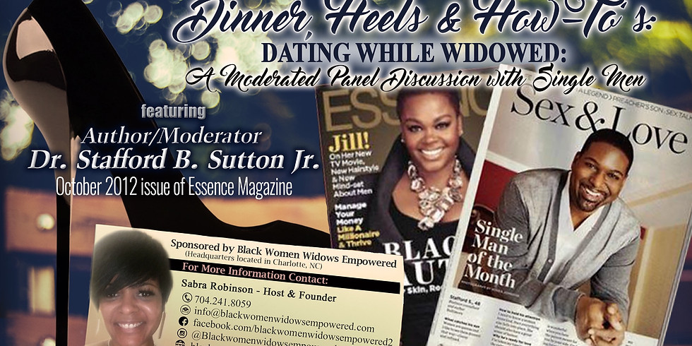 Radio Chat with the Men of Dinner, Heels & How-To's: Dating While Widowed