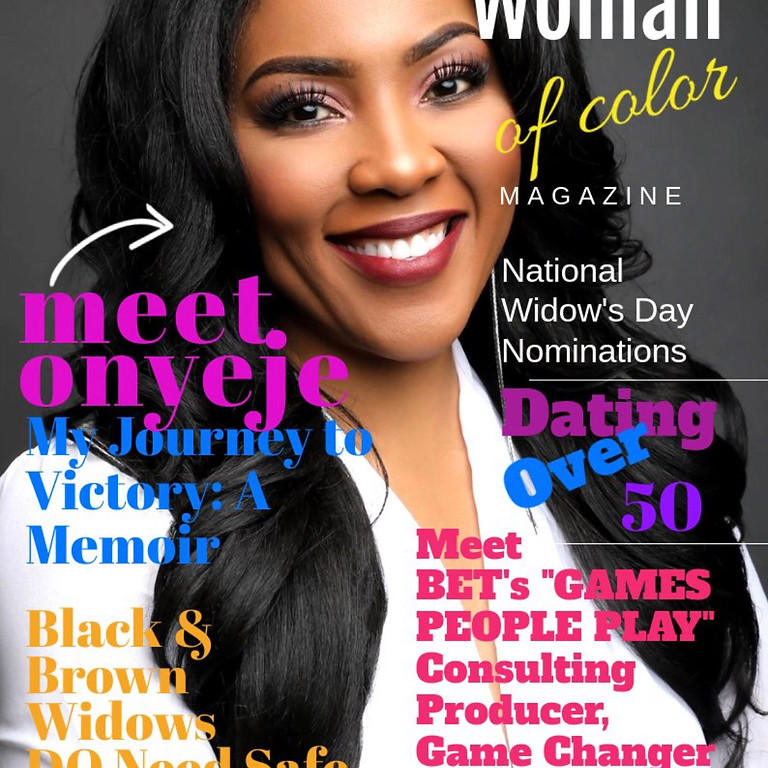 Today's Widowed Woman of Color Magazine Premiere- National Widow's Day