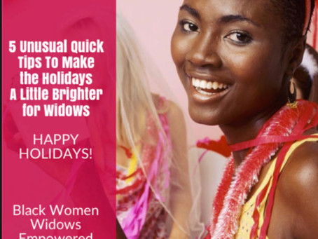 5 Quick Tips To Make the Holidays a Little Brighter for Widows
