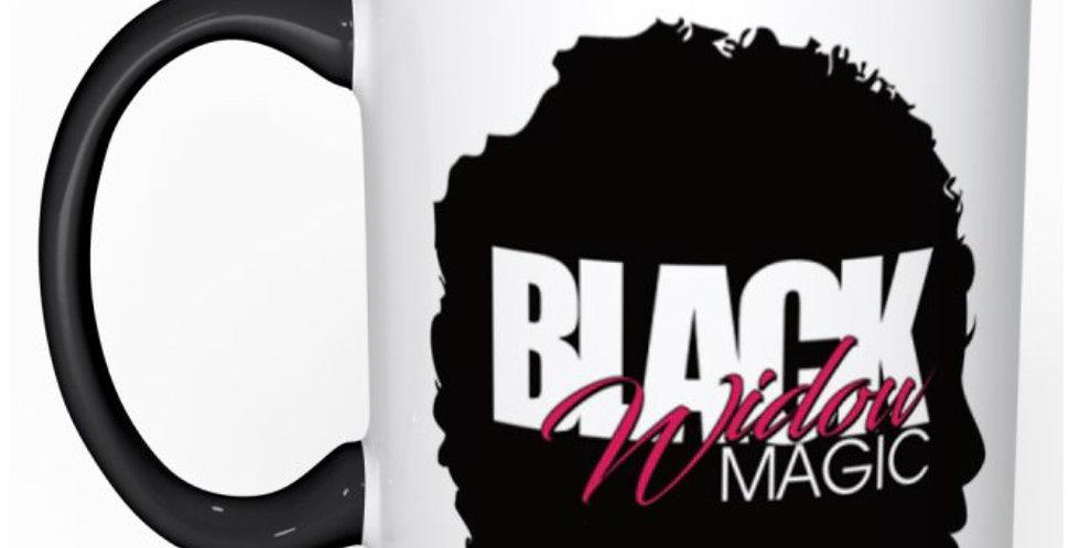 Coffee Mug - Black Handle & Interior - Shipping Included
