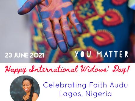 International Widows' Day w/Faith Audu, Founder of Widows and Widowers Dating