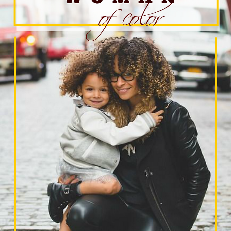 Today's Black Widowed Woman of Color Magazine Release