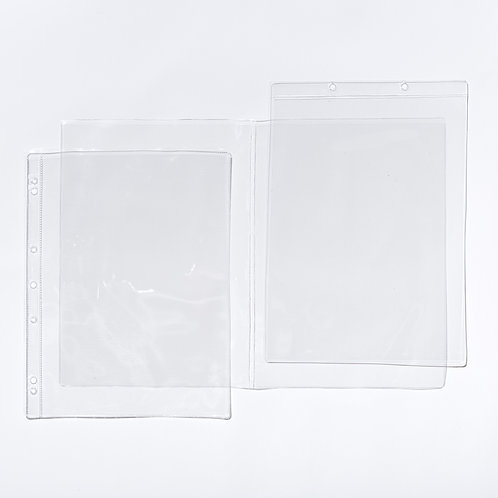Double PVC Copy Safe Sleeves
