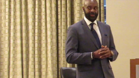 Keynote with Pro Football Hall of Famer Jerry Rice