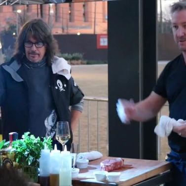 Celebrity Chef Tim Love & Chopped Champion Kelly Hansen