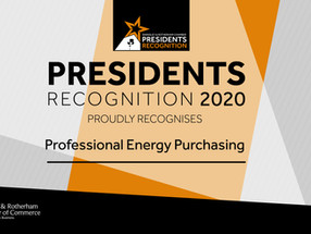 Barnsley and Rotherham Chamber 'Presidents Recognition' Award