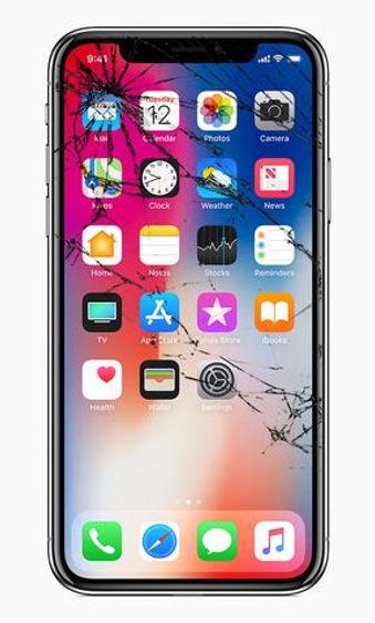 cracked iphone x repairs in London.jpg