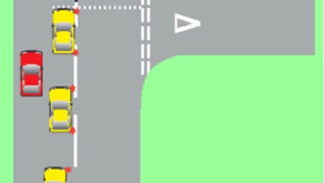 Approaching Junction Turning Right