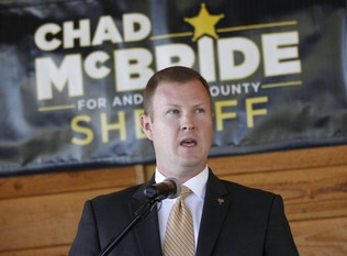 McBride says he would make changes as sheriff