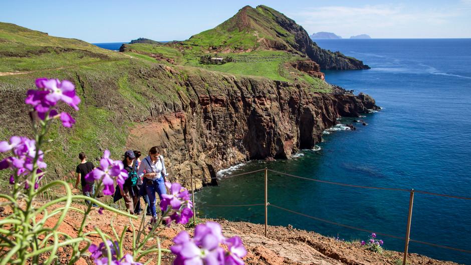 Пешком по острову Мадейра.  Программа ежемесячных туров  на 8 дней/7 ночей