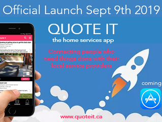 Official QUOTE IT Launch Sept 9th 2019