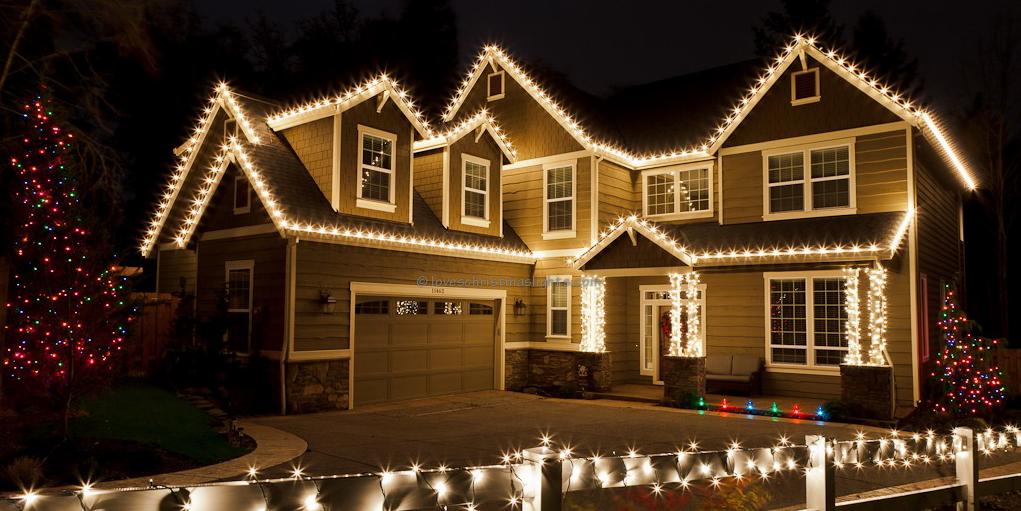 Roofline Christmas Lights
