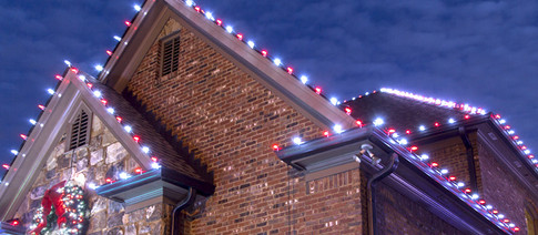 LED Roofline Christmas Lights