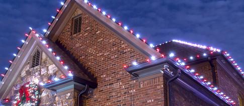 LED Roofline Christmas Lights