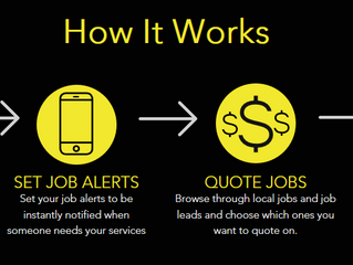 Get more jobs with QUOTE IT.