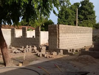 Building a Classroom in The Gambia 2016
